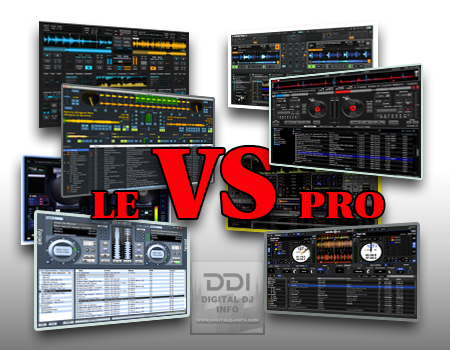Versions Of DJ Software | Digital DJ INFO