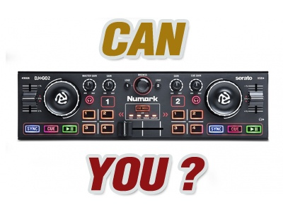 Can You DJ With Numark DJ2GO2 ?