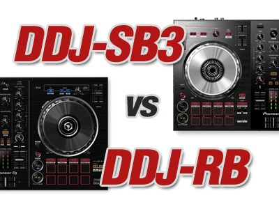 Difference Between Pioneer DDJ-SB3 And DDJ-RB