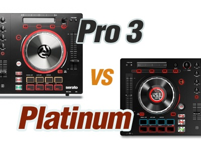 Difference Between Numark Mixtrack Pro 3 And Platinum