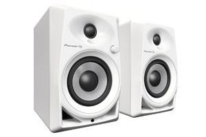 Pioneer DM-40-W Monitor Speakers